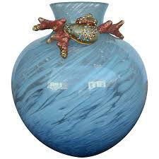 decor jay strongwater sale with blue vase color and small