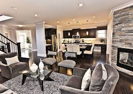 interior design open concept living room kitchen open plan kitchen family room images on how to decorate open plan