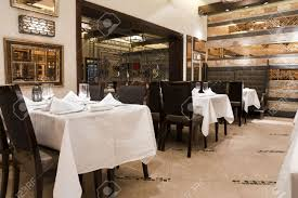 interior of a modern design restaurant stock photo picture and