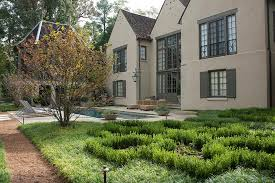 french country bookcase landscape traditional with reflection pool