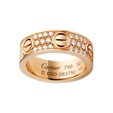 cartier rings gold images Cartier love engagement ring cartier engagement rings png