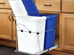 Kitchen Cabinet Trash Can Fabulous Lowes Kitchen Trash Cans Kitchen Trash Cans And 6 Garbage