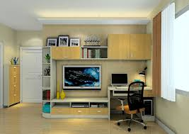 Desk For Tv And Computer Mini Living Room Tv Cabinet With Desk Interior Design