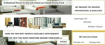furniture moving help company in washington dc md va