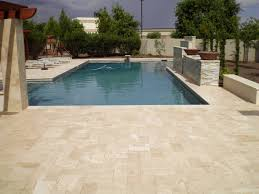 remodel your pool deck using thin overlay pavers