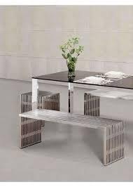 Modern Furniture Bench Zuo Modern Novel Double Bench 100081 Modern Furniture Canada