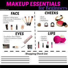 makeup essentials guide for beginners what every needs in her collection when she is