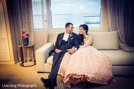 jersey city new jersey indian wedding by lina jang photography