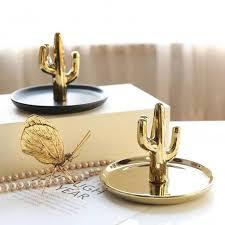 metal dish ring holder images Online shop decorative cactus plate dish ceramic ring holder jpg