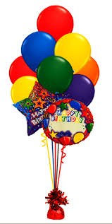 balloon bouquest birthday balloon bouquet custom name 2 foil 10 funtastic
