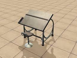 Ergonomic Drafting Table Drafting Table The Sims Wiki Fandom Powered By Wikia