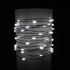 green led string lights glow wire string lights warm white led battery green wire