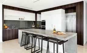 cuisine béton ciré béton ciré pour plan de travail de cuisine 25 idées modernes
