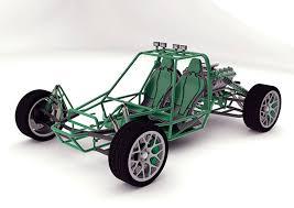 buggy design green dune machine yanko design