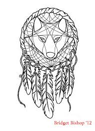 dreamcatcher wolf design by ashesofthesage on deviantart that s