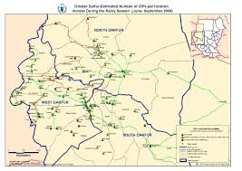 Map Of Sudan Bones And Dust The Forgotten Tragedy Of Darfur Anthropology