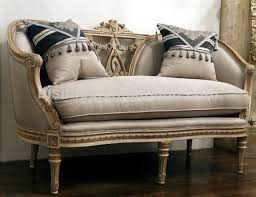 french provincial living room single sofa vintage hand carved