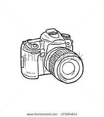 vintage camera doodle stock vector 273264614 shutterstock