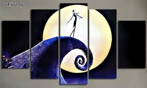The Nightmare Before Christmas Home Decor Christmas Movie Posters Promotion Shop For Promotional Christmas