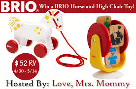 High Chair Toy Blogger Opp Brio Horse And High Chair Toy Giveaway 52 Rv