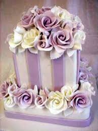 beautiful cakes with purple rose decoration party themes inspiration