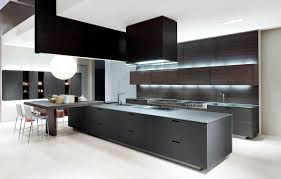 contemporary island kitchen contemporary kitchen wooden island lacquered kyton