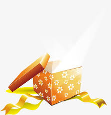 open gift gift box beam png and vector for free download
