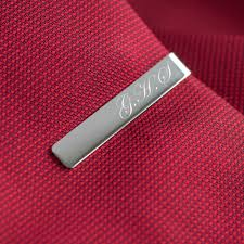 11th anniversary gifts for him personalised tie clip 11th anniversary gift mygiftgenie 11th