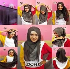 tutorial hijab resmi hijab tutorial segi empat serbaguna kuliah kerja dan acara formal