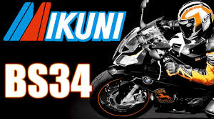 how to clean and assemble the mikuni bs34 motorcycle carburetor