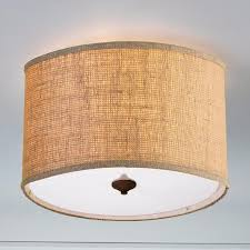Drum Ceiling Lighting Drum Shade Ceiling Light Fixtures Home Decor Inspirations