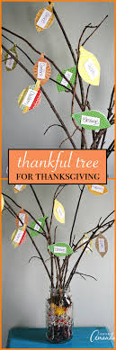 thankful tree use scrapbook paper and twigs to make a thankful tree