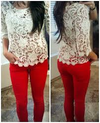 best combination color for white which color top is suit best with red jeans quora
