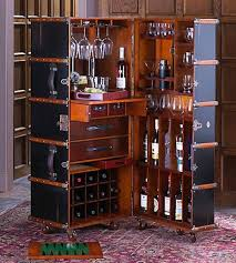 Portable Bar Cabinet Roofdogs Home Garden Pinterest Upcycling Vintage Trunks