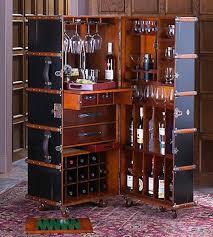 Portable Bar Cabinet Roofdogs Home Garden Pinterest Upcycling Vintage Trunks