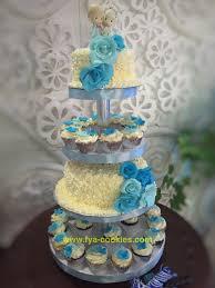 wedding cake balikpapan wedding cupcakes blue di balikpapan fya cookies cake cupcakes