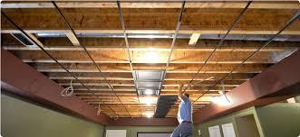 Drop Ceiling Grid by Ceilingconnex Direct Mount Ceiling Grid System