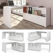 bureau couleur bureau en u bureau d angle bureau multimédia de couleur de blanc ebay