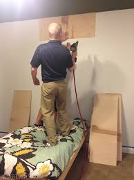 How To Make A Platform Bed With Plywood by How To Build A Platform Bed In 3 Steps No Seriously U2022 Vintage