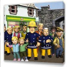 children u0027s fireman sam bedroom decor ebay