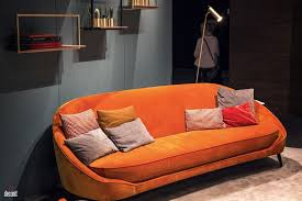 Orange Sofa Living Room by 30 Bright And Comfy Sofas That Add Color To The Living Room