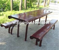 Picnic Benches For Schools Free Metal Picnic Table Plans Metal Picnic Tables For Schools