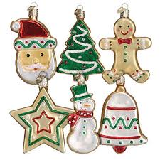 cookie assorted ornament world