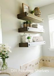 Wooden Shelves Making by Craftaholics Anonymous Diy Floating Shelves