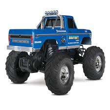 the monster truck bigfoot traxxas 1 10 bigfoot 1 the original monster truck blue