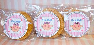 baby shower favors for girl diy baby shower ideas printable labels it s a girl diy baby shower