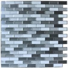 peel and stick mosaic tile backsplash floor decoration