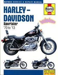 harley davidson sportster shop manual service repair book haynes