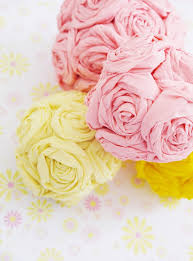 Pink And Yellow Birthday Decorations Diy Crepe Paper Flower Pomanders Party Decorations Party Ideas