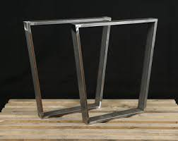 Kitchen Table Legs Steel Table Legs Etsy